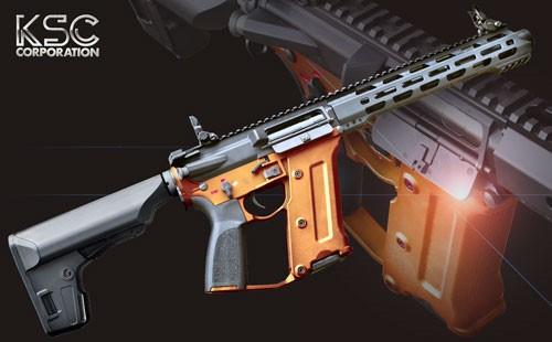 KSC ストラックERGライフル セーフオレンジフレーム(少数限定生産品)