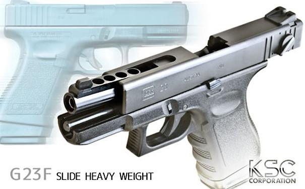 KSC ガスブローバック ハンドガン G23F スライドヘヴィウェイト