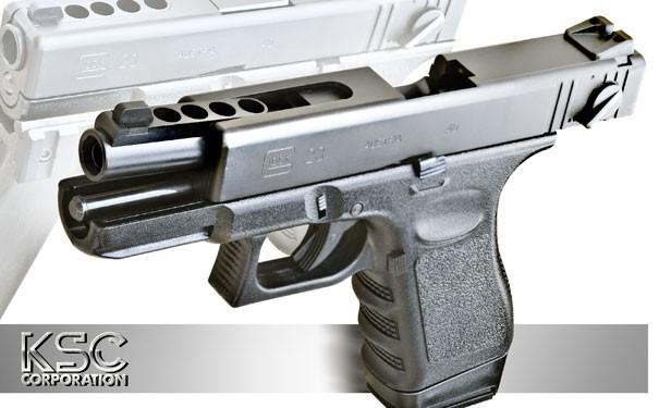 KSC ガスブローバック ハンドガン G23F ヘヴィウェイト